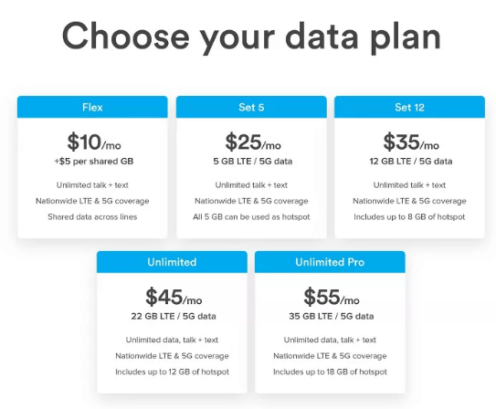ting phone plans
